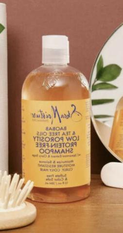 2PCS SHEA MOISTURE Baobab & Tea Tree Oils Low Porosity Shamp