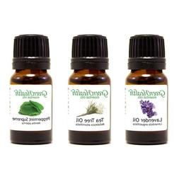 Top 3 100% Pure Essential Oil Basic Set 10ml  10ml Each