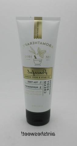 BATH & BODY WORKS Aromatherapy PEACEFUL Tea Tree + Peppermin