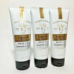 Bath & Body Works PEACEFUL Tea Tree Body Cream Lotion Aromat