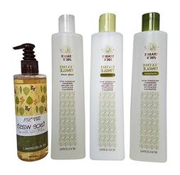 Trader Joe's Body and Bath Bundle: 1 Tea Tree Tingle Shampoo