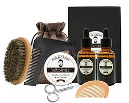 Timkdle Beard Timming Kit with Friendly Bag-Beard Oil and Ba