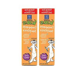 Kiss My Face Berry Smart Obsessively Kids Toothpaste Fluorid