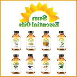 Best Sun Essential Oils -  - 100% Natural - Amber Bottle