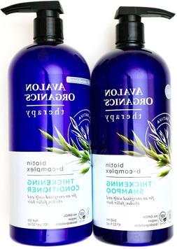 Avalon Organics Biotin B-Complex Thickening Shampoo or Condi