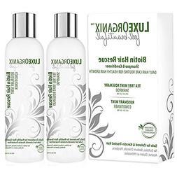Biotin Shampoo and Conditioner for Hair Growth: Tea Tree Min