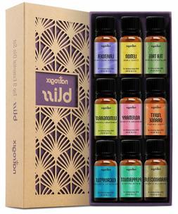 Natrogix Bliss Essential Oils - Top 9 Therapeutic Grade 100%