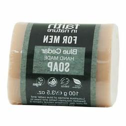 Faith In Nature Blue Cedar Hand Made Soap For Men - 100g