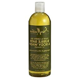 Shea Moisture Bubble Bath And Body Wash 16oz Olive & Green T