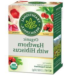 Traditional Medicinals Caffeine Free Herbal Heart Tea, Heart