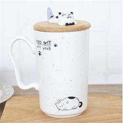 14OZ Color Cartoon Ceramic Mug Heat-Resistant Milk Coffee Mu