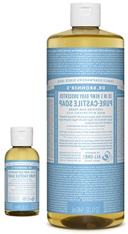 Dr. Bronner's Pure-Castile Liquid Soap – Baby Unscented