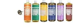 Dr. Bronner's Pure Castile Soap Ultimate Rainbow 6 Variety P