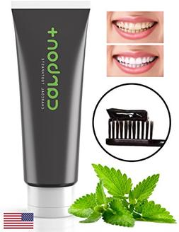 Charcoal Teeth Whitening Toothpaste Activated - All Natural