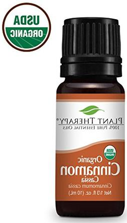 Plant Therapy Cinnamon Cassia Organic Essential Oil 10 mL  1