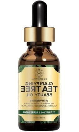 The Beauty Foundry Clarifying TEA TREE Beauty Oil With Vitam
