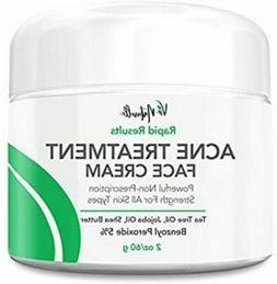 Cystic Acne Spot Treatment Cream - Tea Tree Oil Pimple Corre