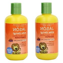 Jason Kids Only! Daily Detangling Shampoo and Conditioner, 8