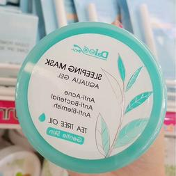 Daiso Aqualia gel Facial Sleeping Mask Anti Acne Blemish Glo