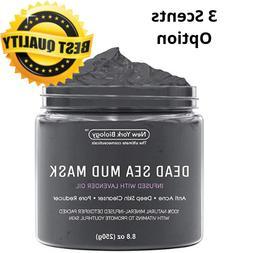 Dead Sea Mud Mask Anti-Acne By NewYork Biology High Quality