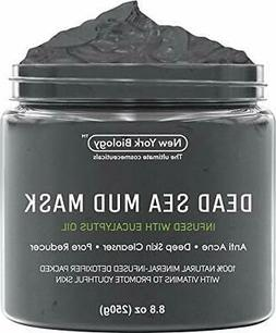 New York Biology Dead Sea Mud Mask for Face and Body 8.8oz