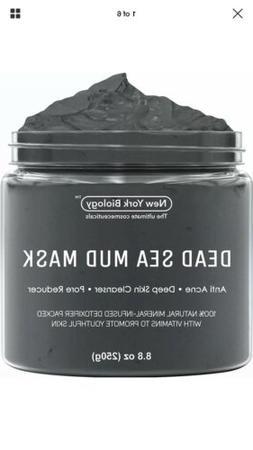 New York Biology Dead Sea Mud Mask Infused With Tea Tree Oil