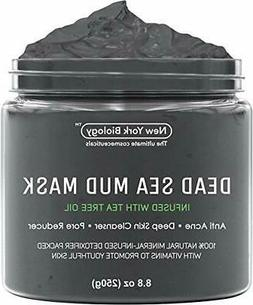 Dead Sea Mud Mask Infused with Tea Tree - 100% Natural Spa Q