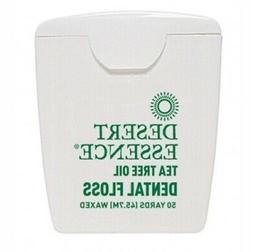 Dental Floss-Tea Tree Oil Desert Essence 50 Yard Floss