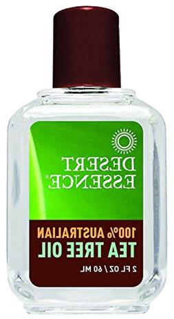 Desert Essence Tea Tree Oil - 100 Percent Australian - 2 oz