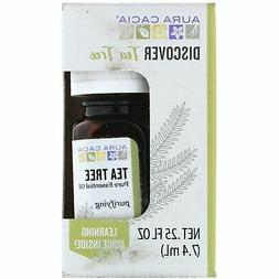 Aura Cacia Discover Essential Oil- Tea Tree | Clearing Benef