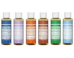 Dr. Bronner's Pure-Castile Liquid Soap 4 oz. Choose Scent