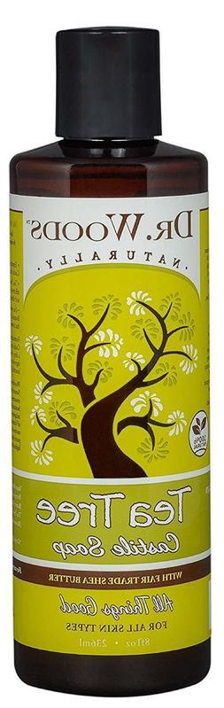 Dr. Woods Pure Tea Tree Liquid Castile Soap w/Organic Shea B