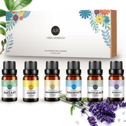 Essential Oil 100% Pure Tea Tree Peppermint Lavender Orange