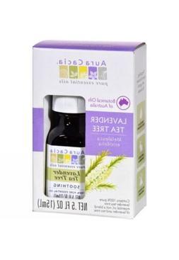 Aura Cacia Essential Oil – Lavender Tea Tree – .5 fl oz