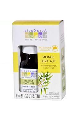 Aura Cacia Essential Oil – Pure – Lemon Tea Tree – .5
