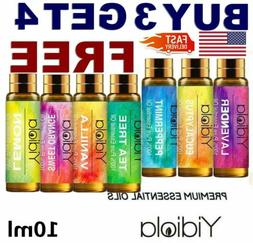 Essential Oils 100% Pure Natural Aromatherapy 10ml Essential