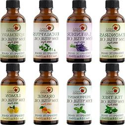 Essential Oils Set 100% Pure Therapeutic Grade - Aromatherap