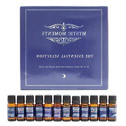 Mystic Moments | The Essential Selection | 12 x 10ml 100% Pu