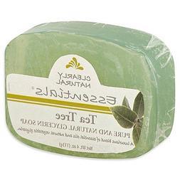 Clearly Natural Essentials Tea Tree Glycerine Bar Soap, 4 oz