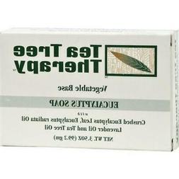 Tea Tree Therapy Eucalyptus Soap Vegetable Base - 3.5 oz