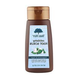 Tree Hut Exfoliating Foot Scrub, Peppermint and Sugar, 8-Oun