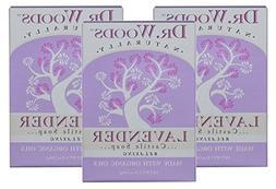 Dr. Woods Exfoliating Lavender Bar Soap with Organic Shea Bu