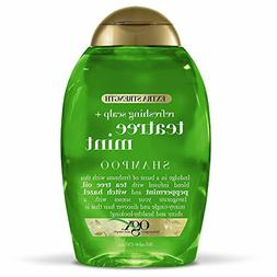 OGX Extra Strength Tea Tree Mint Shampoo 13 Ounce Bottle