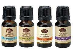 Favorite 4 - Pure Therapeutic Essential Oil Set - 10ml