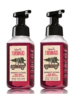 Bath & Body Works Frosted Cranberry Hand Soap - Pack of 2 Fr
