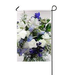 ZLU Garden Flag Alstroemeria Freesia Tea Tree Flower Decorat