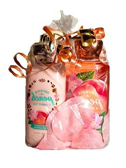 Bath & Body Works Georgia Peach and Sweet Tea Shower Gel and