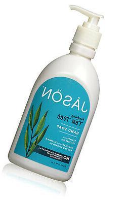 Jason Pure Natural Hand Soap - Purifying Tea Tree - 16 oz -