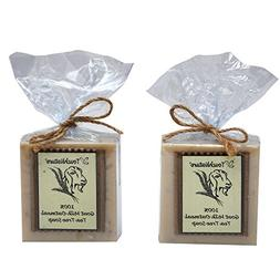 Touch Nature 2 Pieces Of 100% Handmade Goat Milk With Tea Tr