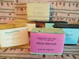 Handmade Organic Vegan Soap Bar - Cold Process - Large 5 oz